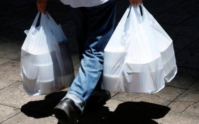 Plastic takeaways bags China